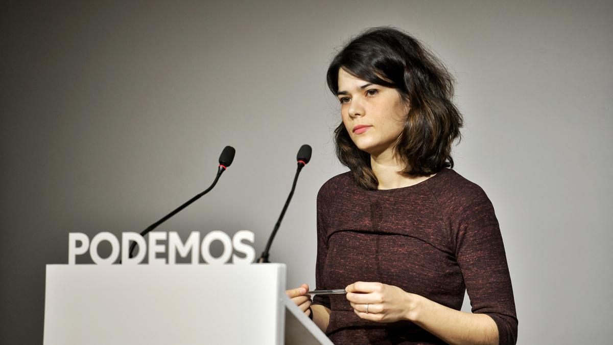 Isa Serra, en una comparecencia reciente