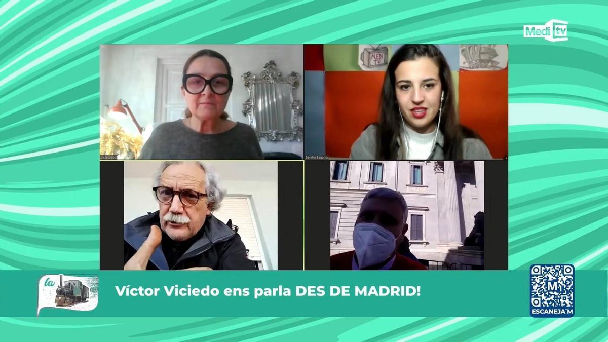 Loles García y Sandra Segarra presentan 'La Panderola'