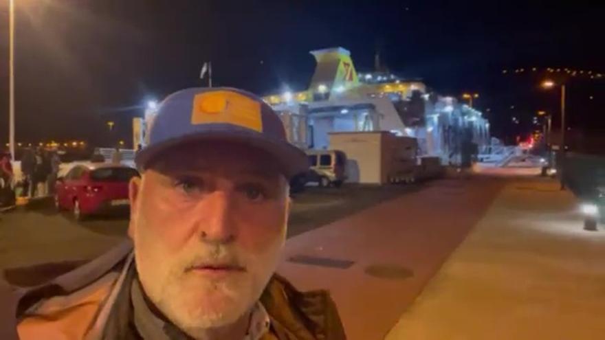 José Andrés lanza una encuesta para bautizar el volcán de La Palma: Cumbre Vieja, Cabeza de Vaca, Tajogaite o Llano de las flores
