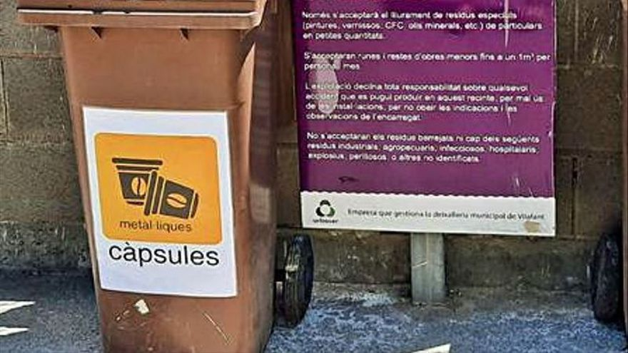 L'Ajuntament de Vilafant signa un conveni per fomentar el reciclatge de càpsules de cafè