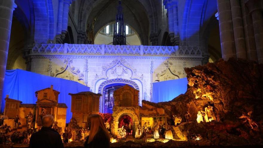 El belén de la Catedral de Zamora abre sus puertas