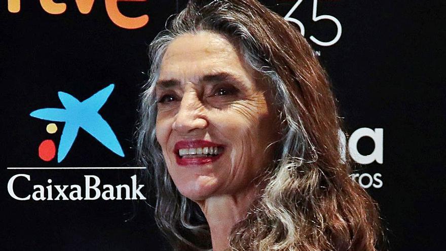 """Ángela Molina: """"Creo que todo lo que ha sido mi vida es trabajo"""""""