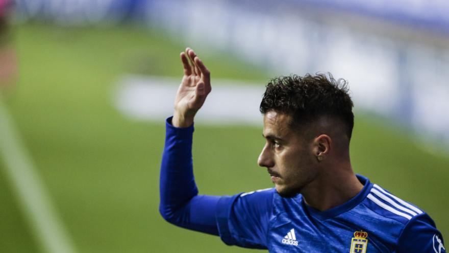 La lesión de Tejera pone en jaque al Oviedo: estas son las opciones que tiene Ziganda para suplirle