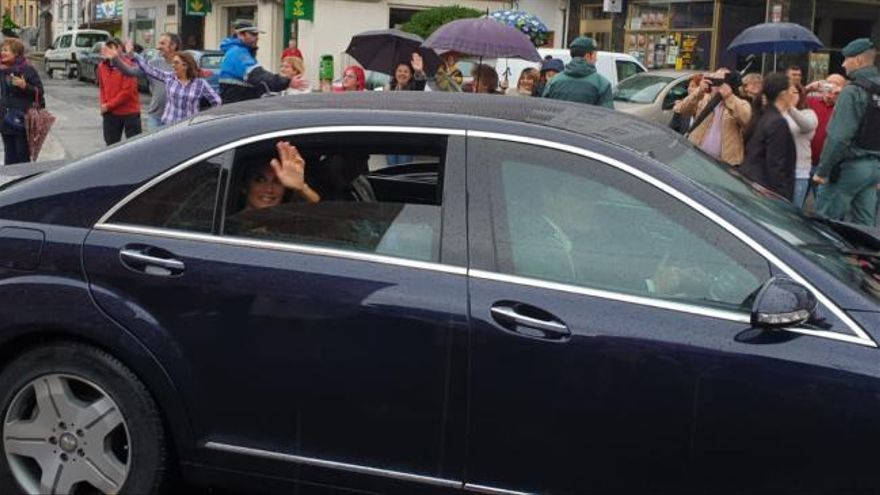 Premios Princesa de Asturias 2019: Los Reyes, atrapados en Posada de Llanes cuando iban de camino al Pueblo Ejemplar
