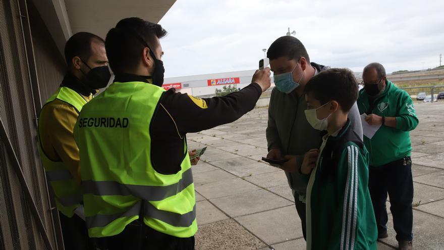 Córdoba CF-Cádiz B: Así es el protocolo de acceso y salida de El Arcángel
