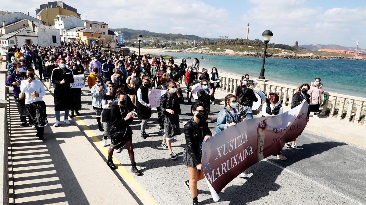 Las mujeres gallegas protestan ante la decisión del juez