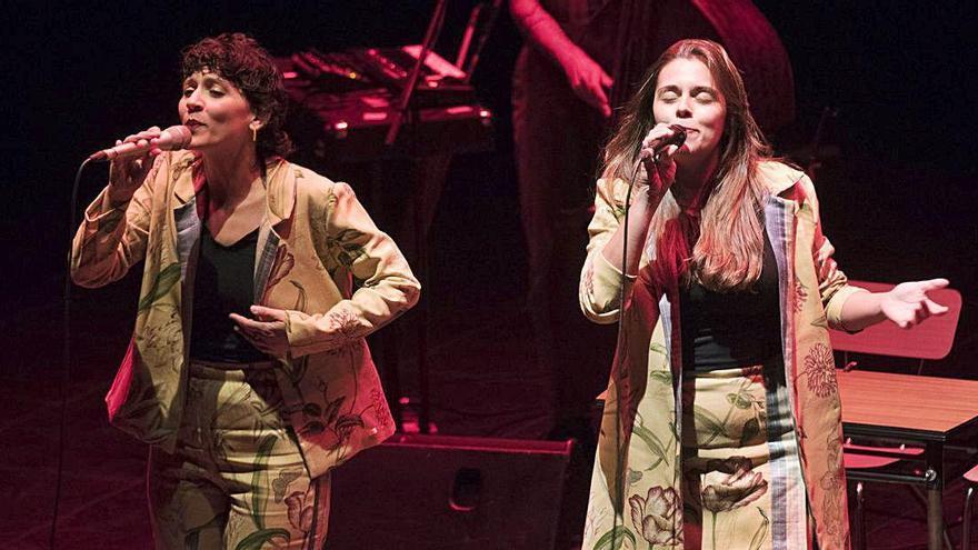Paula Grande i Anna Ferrer estrenen repertori