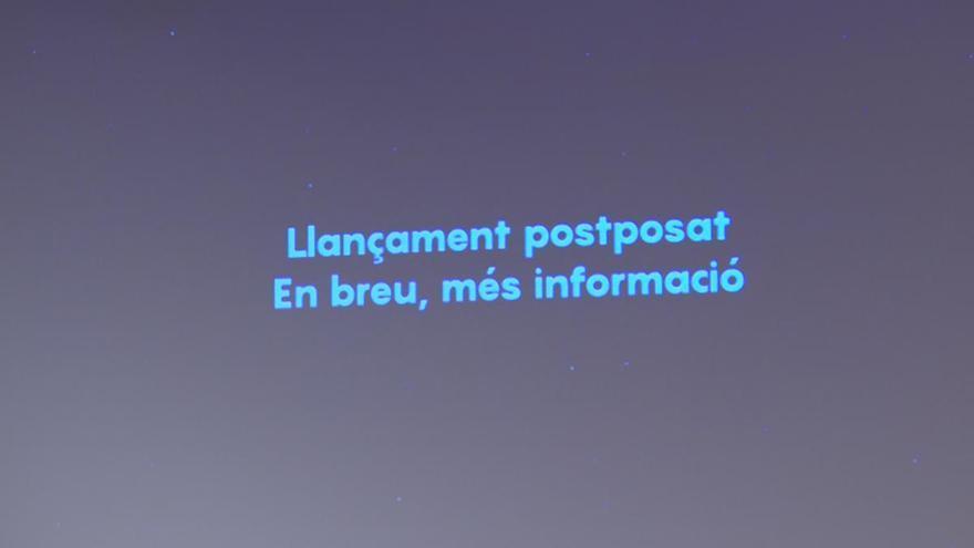 Ajornat a dilluns el llançament del primer nanosatel·lit de la Generalitat