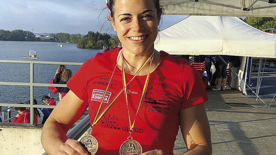 Dos bronces para Laura Pedruelo en la Copa de España