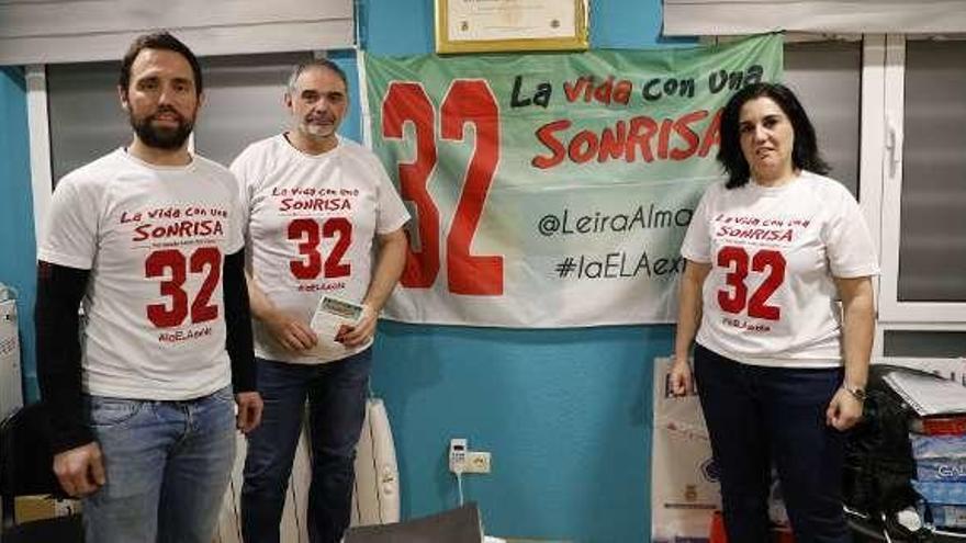 Fernando Leira corre en La Luz