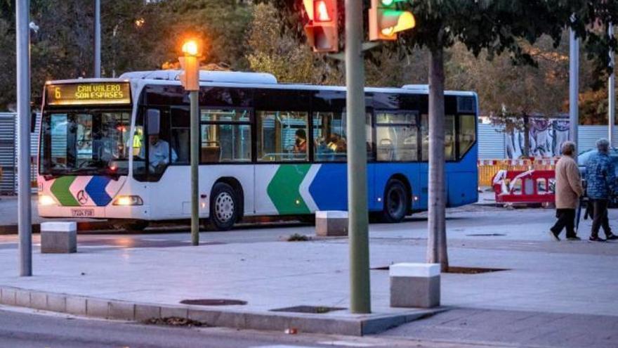 Ausgangssperre: Weniger Busse und nur jedes fünfte Taxi in Palma
