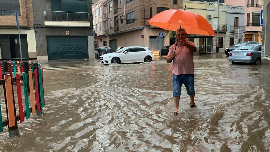Inundaciones en la provincia de Castellón