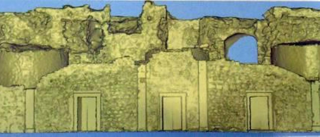 Dénia recupera la monumental escalinata de 1600 de su castillo