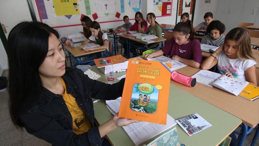 Casi 3.000 alumnos estudian  chino en los centros públicos andaluces