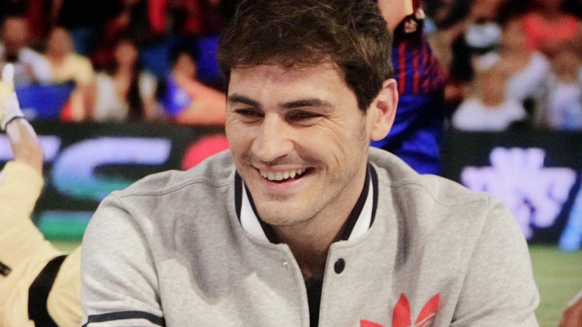 Iker Casillas, portrayed by his ex-partner Ruth