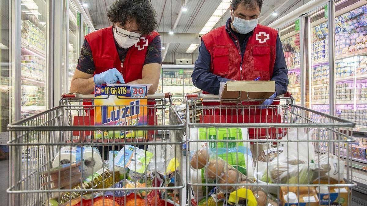 La crisis del covid provoca la incorporación de más de 600 nuevos voluntarios a Cruz Roja en Córdoba