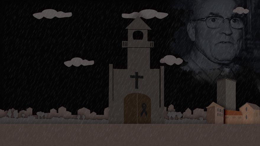 Don Adolfo: el cura generoso que custodiaba la Virxe do Cristal