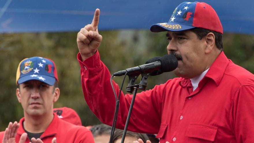 Maduro nombra ministro de Petróleo a un vicepresidente acusado de narcotráfico