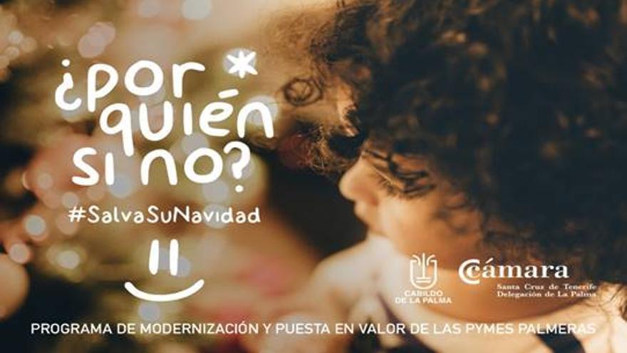 La Cámara de Comercio lanza una campaña de Navidad en La Palma que se apoya en el cine