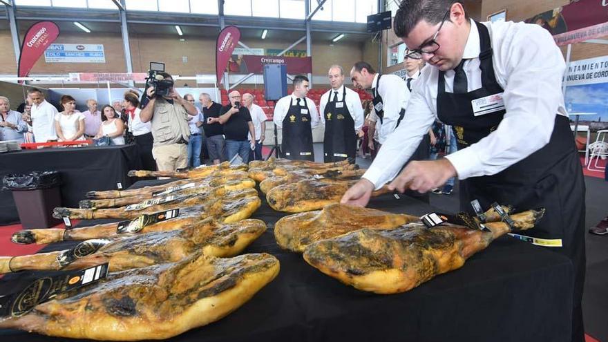 La Feria del Jamón termina con una defensa del cerdo ibérico en extensivo
