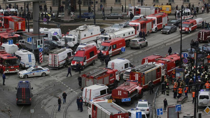 Rusia busca a dos sospechosos del ataque