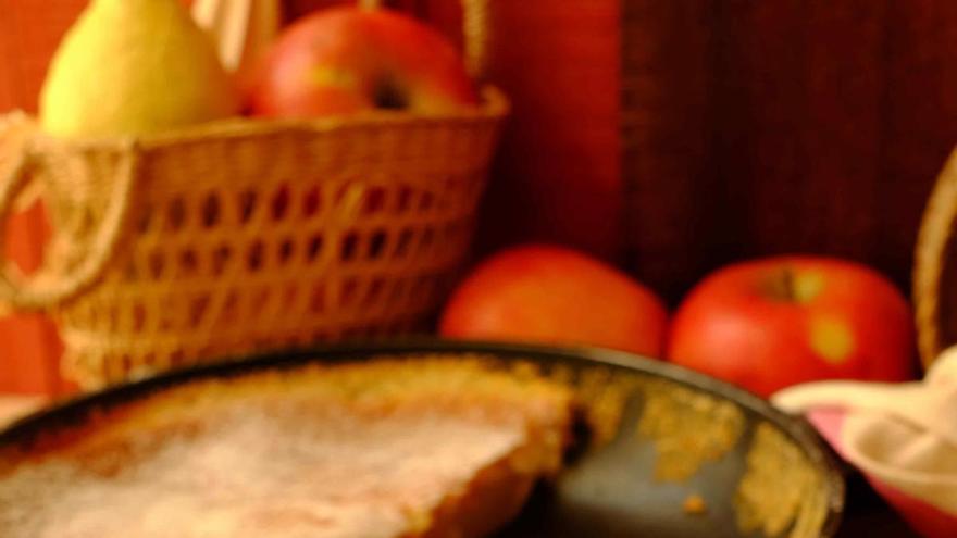 Torta de peras asadas