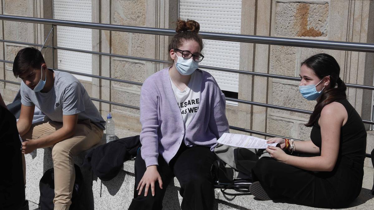 Los jóvenes gallegos deciden su futuro en la Selectividad