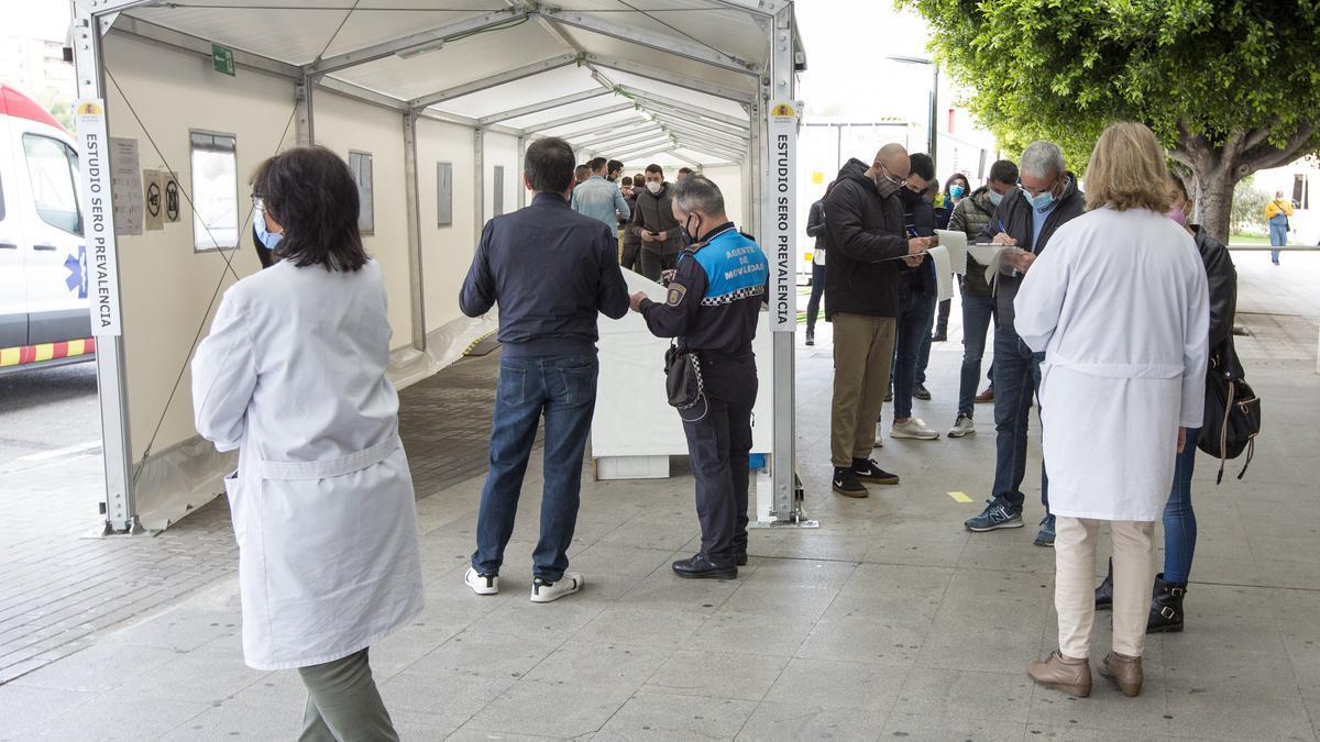 Comienza la vacunación de las fuerzas de seguridad