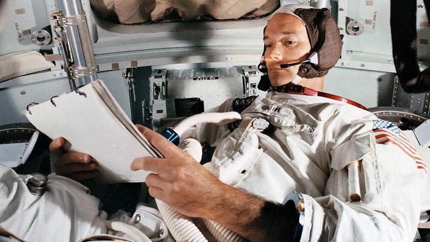 Mor Michael Collins, un dels astronautes integrants de l'Apollo 11