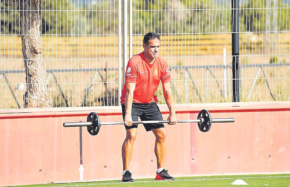 Real Mallorca: Luis García también se pone en forma