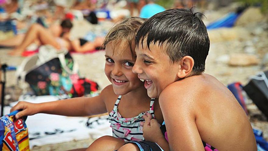Los luchadores disfrutan en Ibiza