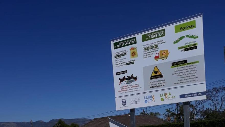 """Llíria instala 17 """"Puntos Eco"""" para mejorar la recogida selectiva de residuos"""