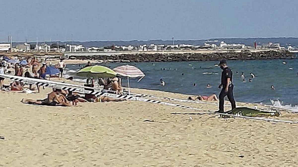 El hombre se ahogó en la playa de Can Pere Antoni.