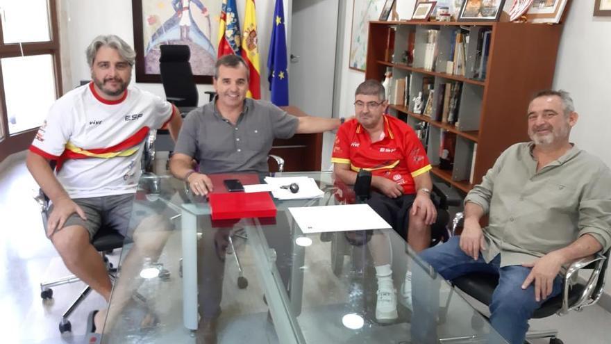Vicente Aznar acude a los Juegos Mundiales