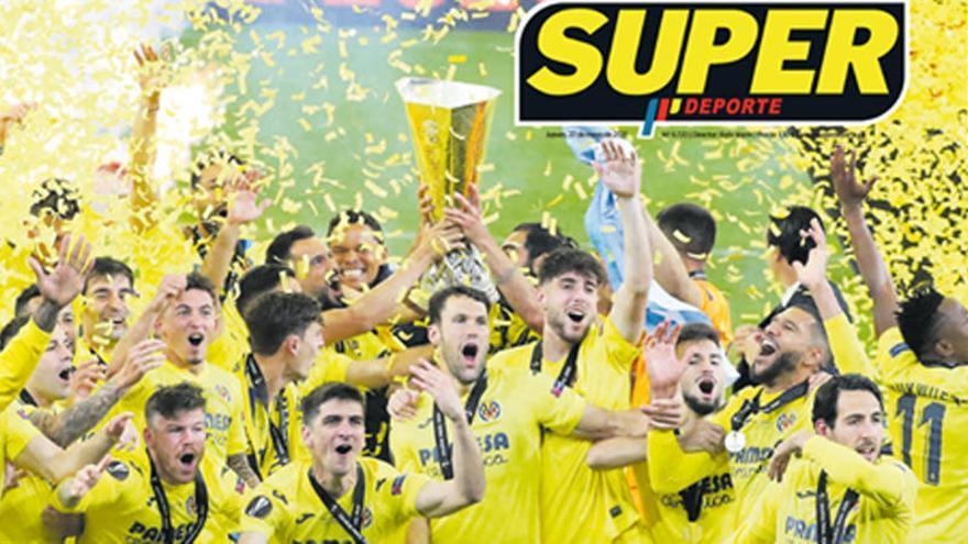 Esta es la portada de SUPER de este jueves 27