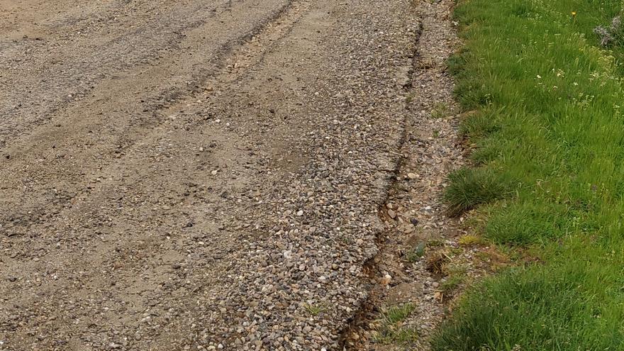 Quejas por el mal estado del camino rural entre Manzanal y Santa Eufemia