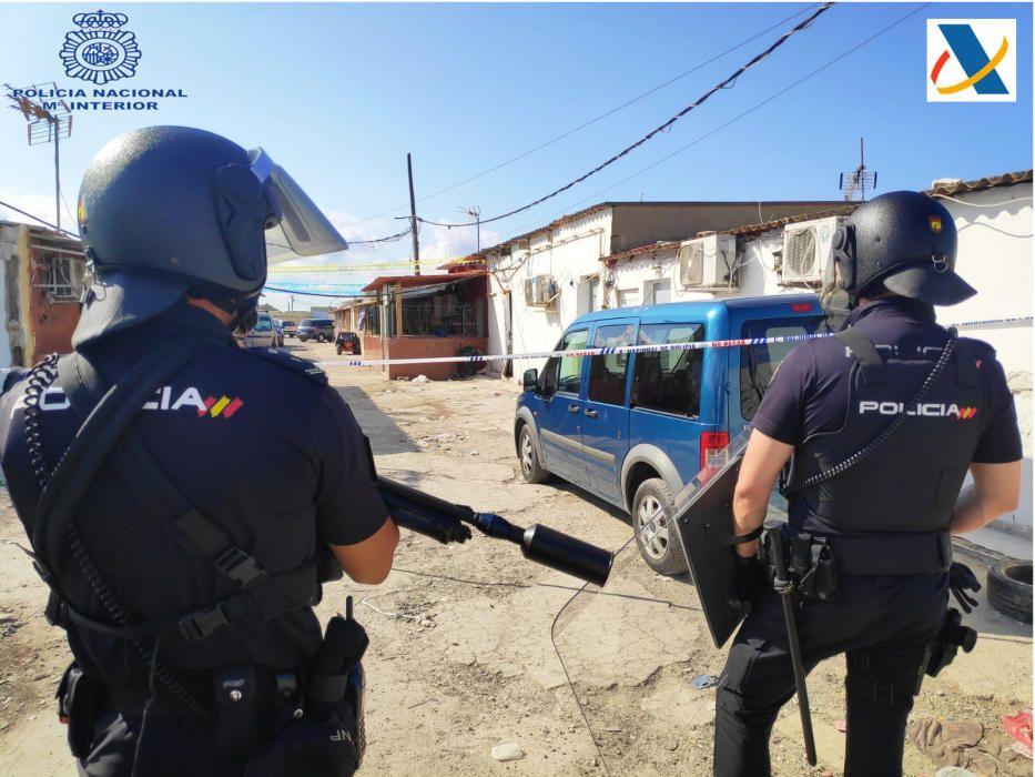 Tres detenidos en una operación antidroga en Son Banya