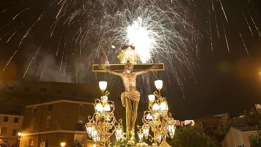 L'arribada del Crist de l'Agonia a Sant Carles es celebrarà amb un castell de focs d'artifici