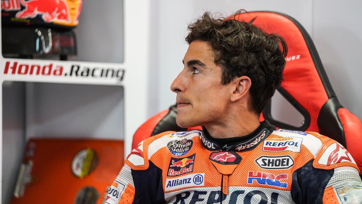 El piloto español de MotoGP Marc Márquez.