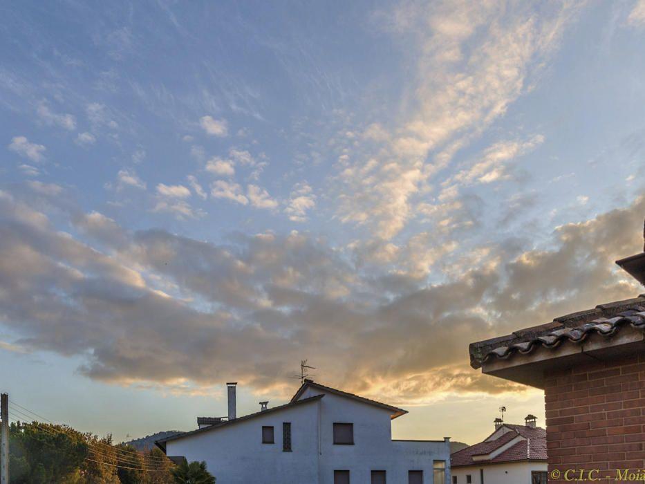 Sortida amb núvols a Moià