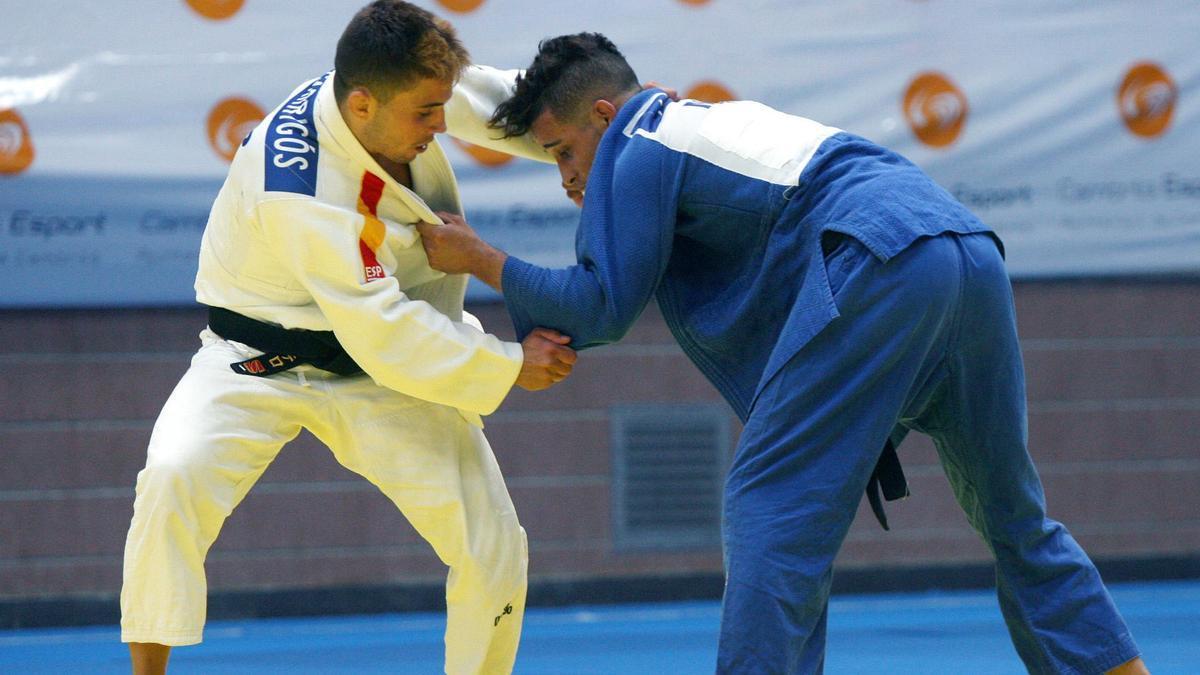 Fran Garrigós, en su combate en Tokio.