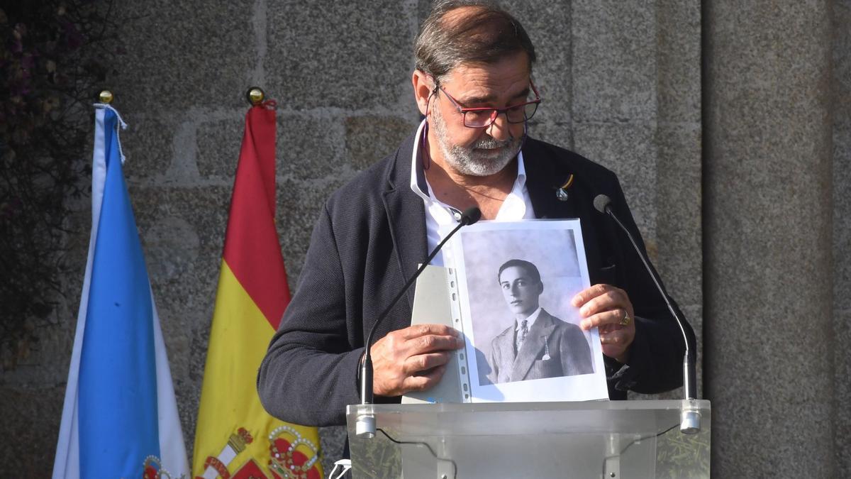 Andrés Lijó, sobrino de José Lijó, sindicalista de UGT asesinado en 1937.