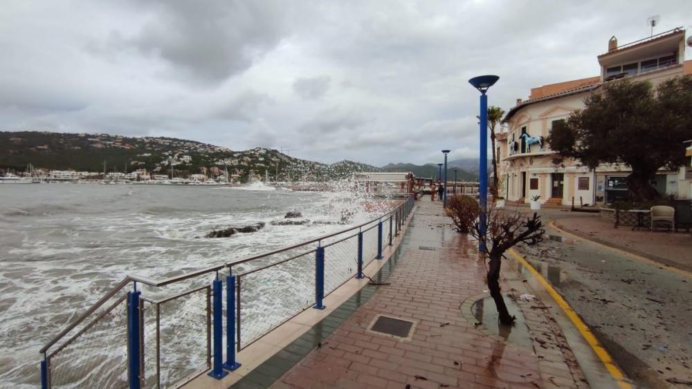 Port d'Andratx erwischte es heftig.