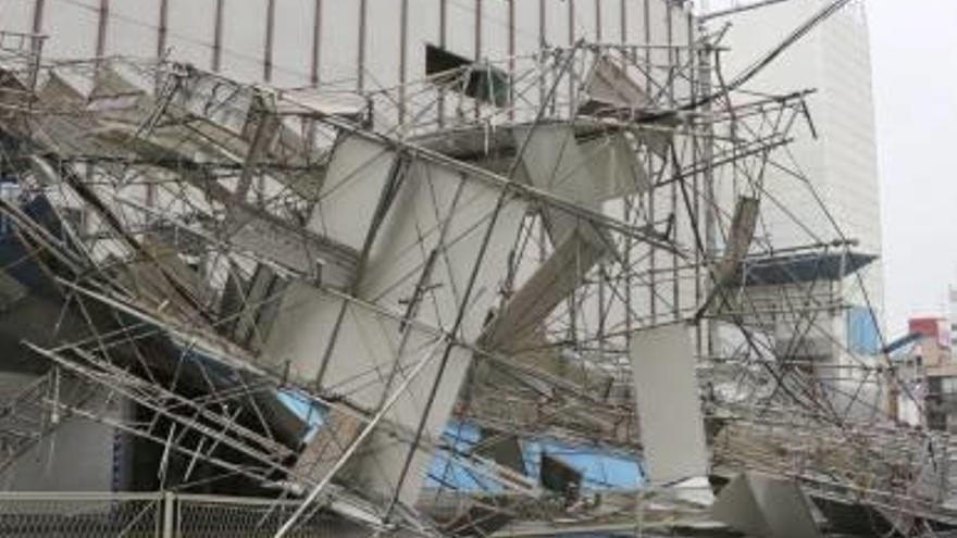 El tifó Jebi ja ha provocat 11 víctimes mortals a l'oest del Japó