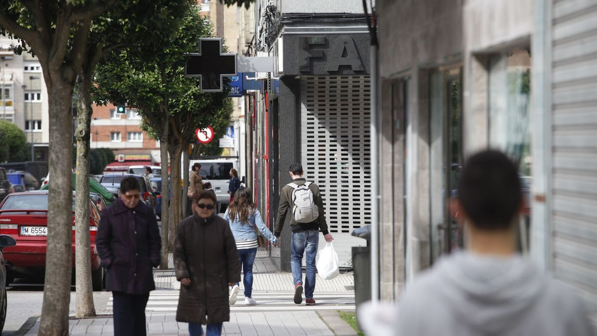 Una farmacia de Gijón.