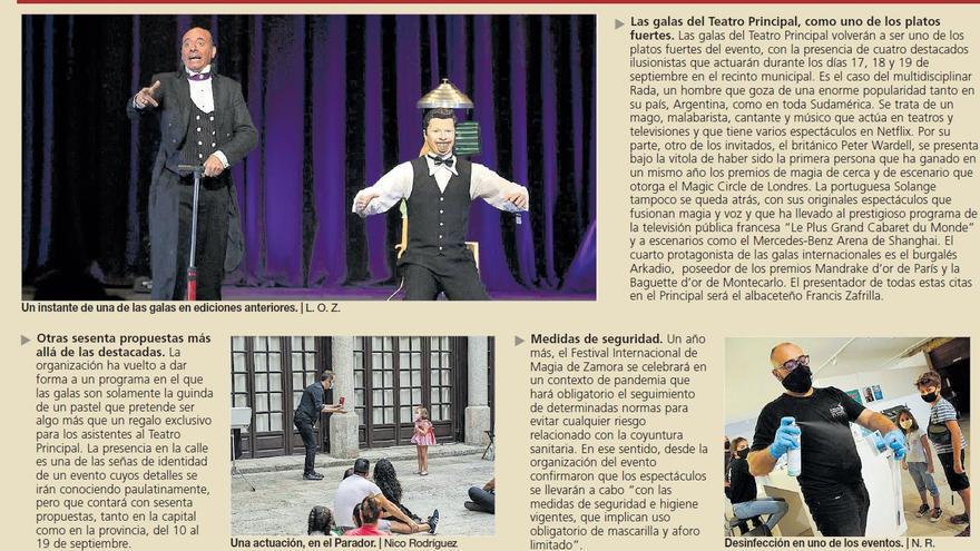 Zamora volverá a ser la capital de la magia