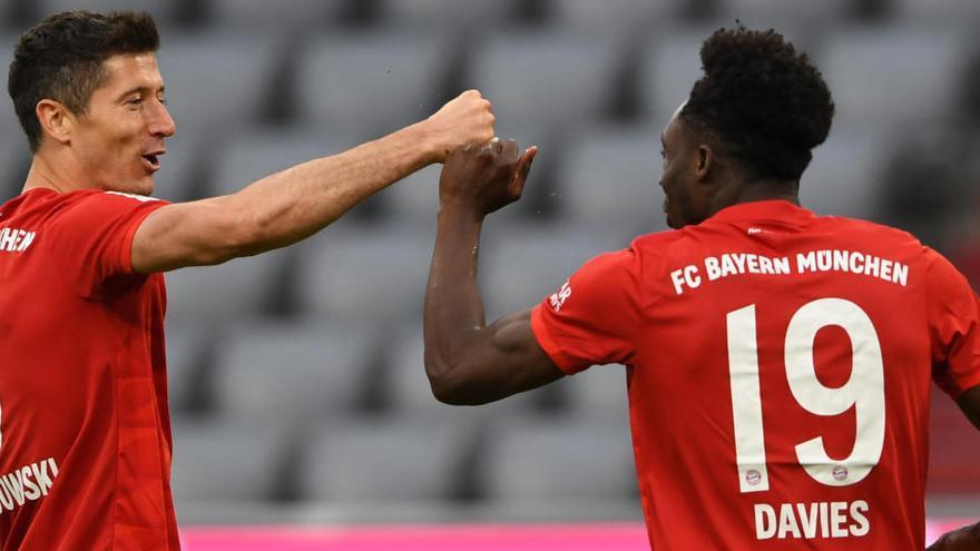 El Bayern da otro paso de gigante hacia la conquista de la Bundesliga