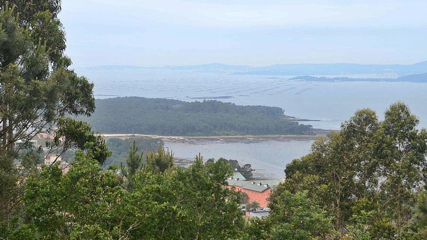 Un mirador con vistas de 360º a la ría de Arousa