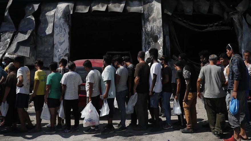 Grecia abrirá un nuevo centro de refugiados en Lesbos en septiembre de 2021