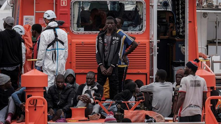Salvamento rescata a 160 migrantes en costas cercanas a Gran Canaria